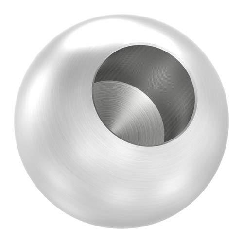 Edelstahlkugel massiv ø 25mm, mit 12,2mm Sackloch edelstahlonline24