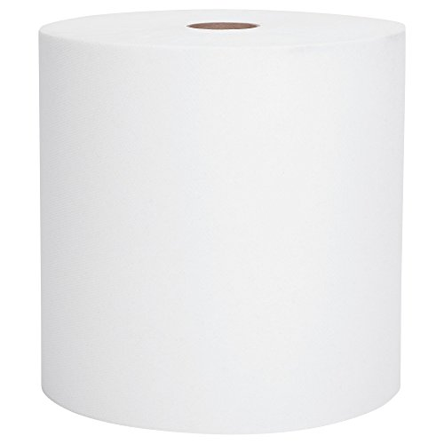 Scott High Capacity Hard Roll Paper Towels (01005), White, 1000' / Roll, 6 Paper Towel Rolls / Convenience Case, 5 Cases by Kimberly-Clark Professional (Image #1)