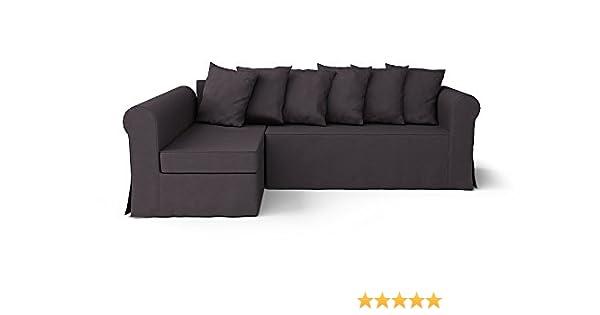 Pleasant Comfort Works Custom Made Slipcovers For Moheda Sofa Bed Left Chaise Dark Grey Creativecarmelina Interior Chair Design Creativecarmelinacom
