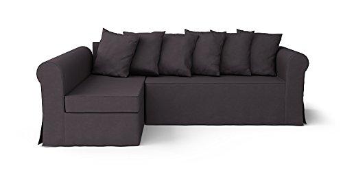 Enjoyable Comfort Works Custom Made Slipcovers For Moheda Sofa Bed Left Chaise Dark Grey Creativecarmelina Interior Chair Design Creativecarmelinacom