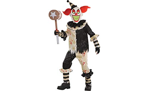 Amscan Carnival Nightmare Clown Costume - X-Large (14-16)