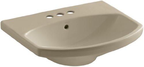 KOHLER K-2363-4-33 Cimarron Bathroom Sink Basin, Mexican -