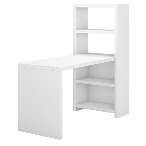Bush Business Furniture Office by kathy ireland Echo 56W Craft Table in Pure White