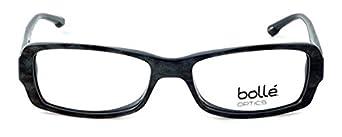 70445 Bolle Optical Bastia in Dark Demi Tortoise Eyeglass Frame 53mm ; DEMO LENS