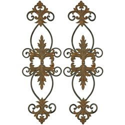 Uttermost 13387 Lacole Rustic Metal Wall D233;cor - Set of 2