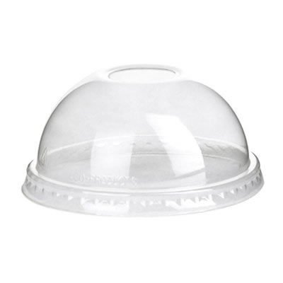 Eco-Products 1218981 9 to 24 oz Dome Lid for GreenStripe Cold Cups, Case of 1000