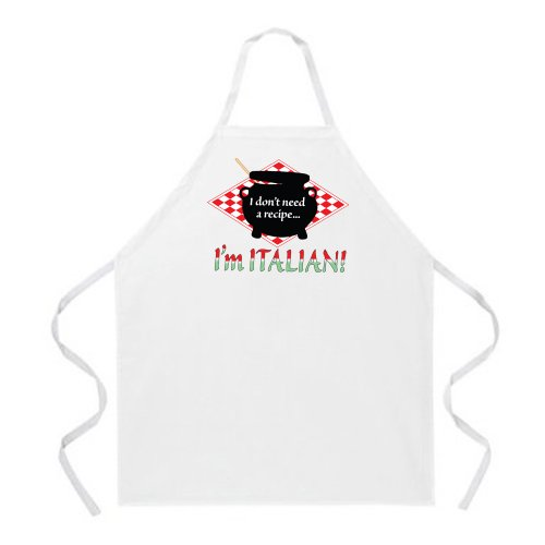 Attitude Aprons Adjustable Italian Natural product image