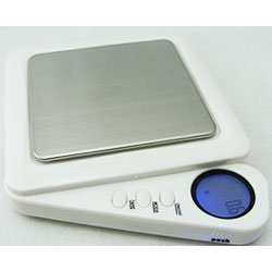 Kenex ECL550WE báscula digital de bolsillo, color blanco