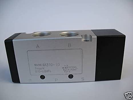 3//8 NPT 3//8 NPT Air Pilot Actuated MettleAir 3A310-10 Pneumatic Valve 2 Position Pack of 10 3 Way Pack of 10 3A310-10-10PK