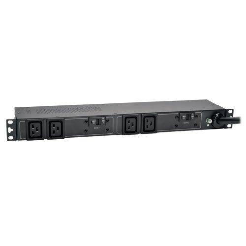 4 C19 Outlet - Tripp Lite Basic PDU, 4 Outlets (C19), 230V, IEC309 32A Blue, 12 ft. Cord, 1U Rack-Mount Power (PDUH32HV19)