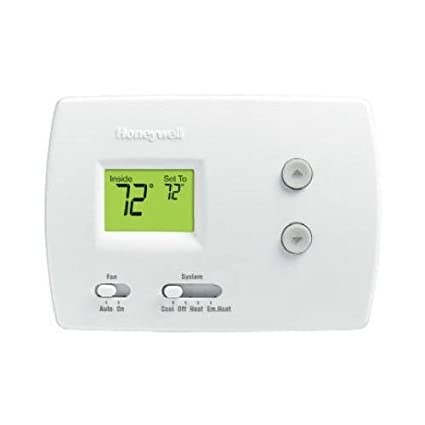 Honeywell Rth3100c Digital Non-programmable Thermostat With Backlit Display