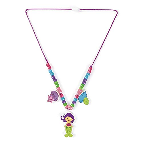- Fun Express 12 pack MERMAID Beaded Necklace Craft kits