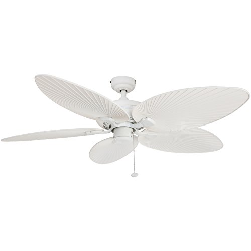 Honeywell Ceiling Fans 50200 Palm Island Tropical Indoor/Outdoor Ceiling Fan 52