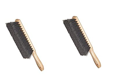 Weiler Horsehair Counter Duster with Wood Handle