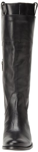 Frye Melissa Tall Riding - Botas de canvas mujer negro - Noir (Blk)