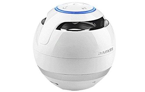 Spherical Stylus - Gadget Place White Spherical Wireless Bluetooth Speaker for LG G6 / V20 / V10 / G4 Stylus / G Pro 2 / G Flex