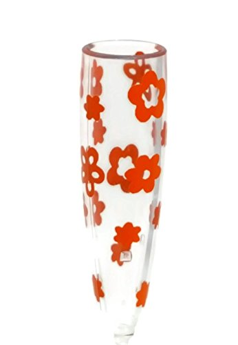 VW Flower Vase with Red Flowers