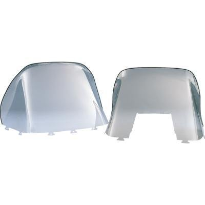 Kimpex Polycarbonate Windshield - Standard - 19in. - Smoke 06-137