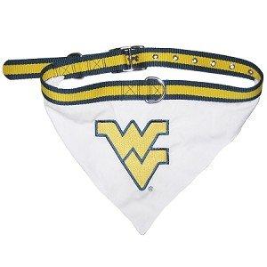 West Virginia University Bandana and Leash Set Size Small