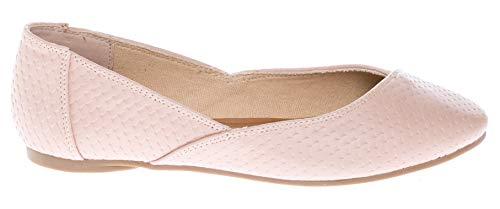 Slip On Flat CALICO Women's Ballerina Shoes Blush Casual pu KIKI Comfort qUFffpnOx