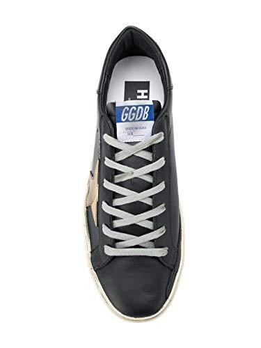 Goose Donna Pelle Nero Golden G33ws945a6 Sneakers Epdywv