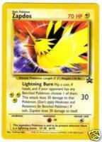 Pokemon Legendary Birds Zapdos Promo Card #23, used for sale  Delivered anywhere in USA