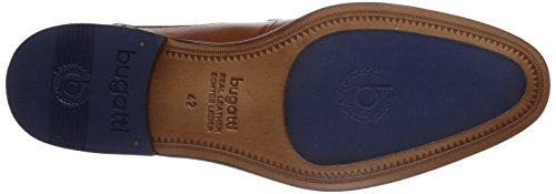 bugatti R0503PR1W - zapatos con cordones de cuero hombre marrón - marrón (cognac 644)