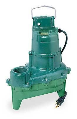 Waste Mate Submersible Pump - Zoeller BE264 Waste-Mate Submersible Sewage/Effluent Pump 230V 0.4 HP w/Variable Level Float Switch