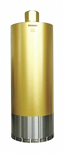Wet Coring Bit,6'',14'' D,1-1/4-7 by WestWard Tools