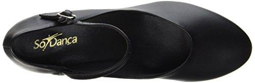 So Danca Damen Ch50 Tanzschuhe-Step, Schwarz (Black), 36 EU