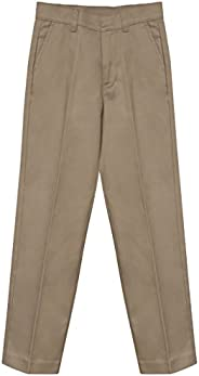 FRESH TEE Boys Junior Premium School Uniform Pants Regualr, Husky, Slim Fit Size 4-20