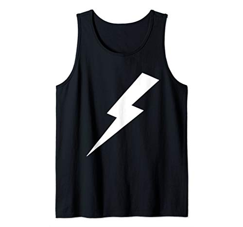 Awesome Lightning Bolt Print  Tank Top