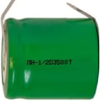 1/2 D NiMH Battery with Tabs (3500 mAh)