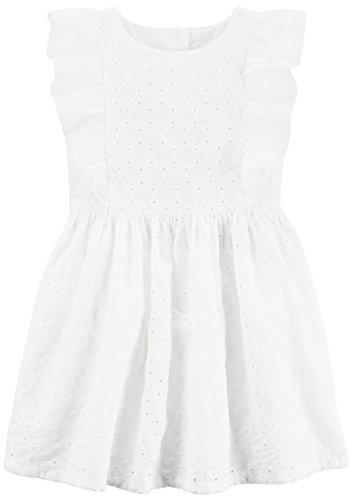 Carter's Little Flower Girl Dress, White, 6-6X]()