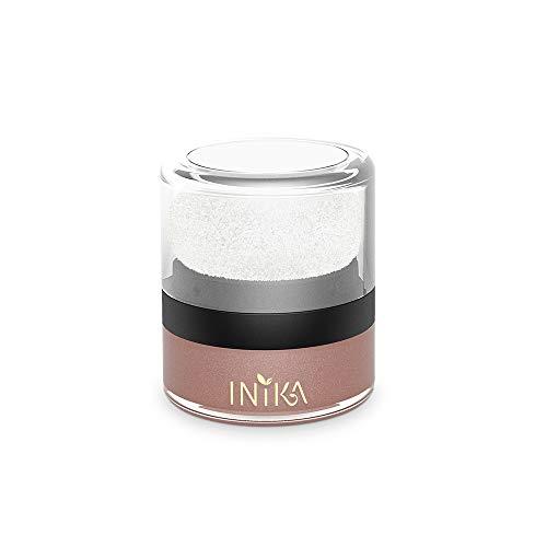INIKA Mineral Blush Puff Pot, All Natural Loose Powder Make-Up, Flawless Coverage, Long Lasting, Water Resistant, Oil Free, Vegan 3g (0.10 oz) (Rosy ()