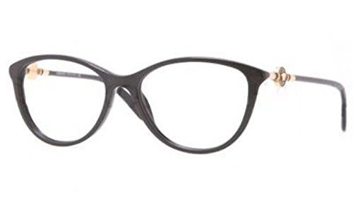 Versace VE3175 Eyeglass Frames GB1-54 - Black Frame, Demo Lens