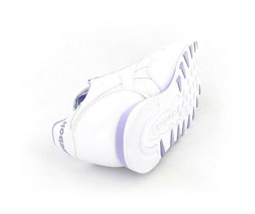 Lilac mujer walking de Blanco 15 para de Zapatillas blanco Piel Reebok nordic White gZnAaOwq