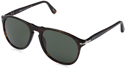 (Persol Sunglasses Tortoise/Grey Acetate - Non-Polarized - 55mm)