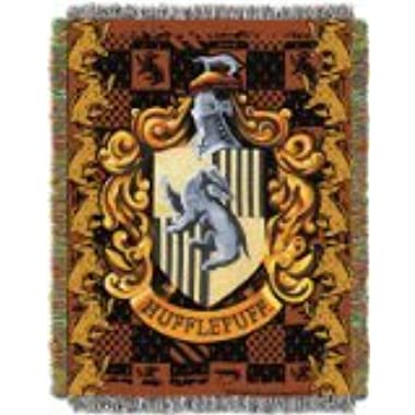 The Northwest Company Warner Bros Harry Potter Hufflepuff's Crest Tapestry Throw, 48 by 60-Inch