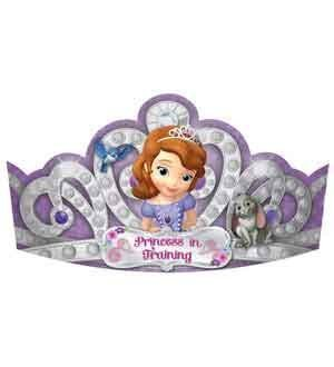 Sofia The First paper Tiara 8ct [Contains 3 Manufacturer Retail Unit(s) Per Amazon Combined Package Sales Unit] - SKU# 250301