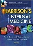 img - for Harrison's Principles of Internal Medicine (2 Vol Set) 17th (seventeenth) Edition by Fauci, Anthony, Braunwald, Eugene, Kasper, Dennis, Hauser, S published by McGraw-Hill Professional (2008) book / textbook / text book