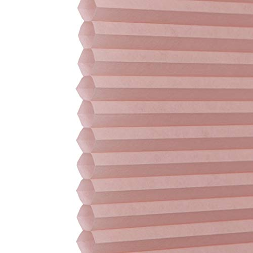 Loves -chuanglian Pleated Blinds – Honeycomb Blinds Waterproof Sunshade Noise Reduction for Bathroom Bedroom Office (Color : B, Size : W75h100cm)
