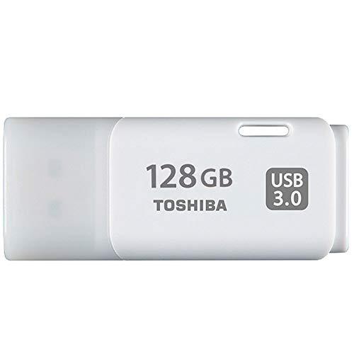 Toshiba USB3.0 Flash Drive 128GB USB 3.0 Flash Disk TransMemory U301 Hayabusa 3.0 USB 128G Memory Stick (THN-U301W1280A4)