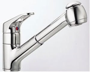 Franke : FF280 Value Line Pull-Out Faucet with Sprayhead - Satin Nickel