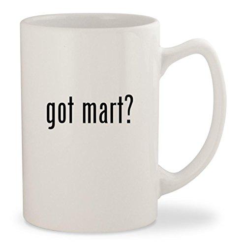 got mart? - White 14oz Ceramic Statesman Coffee Mug Cup (Mart Stein Chairs)