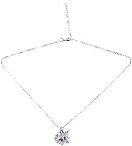 RQWY Collar Collar de aleación Collar de Unicornio Caballo Colgante Collar de Perlas de ostras Joyas Colgantes y Collares Regalo para Mujeres Niñas