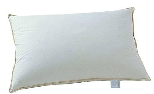 日本ベッド製造 ピロー ホワイト ロータイプ リフワージュ 枕 詰物重量:0.69kg 50688-LOW B07F5M9PWV