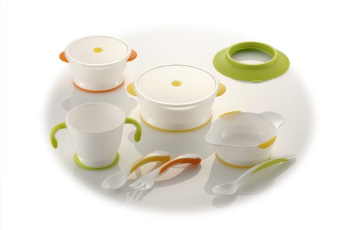 Richell Try series baby tableware set UF-3 by Ritschel