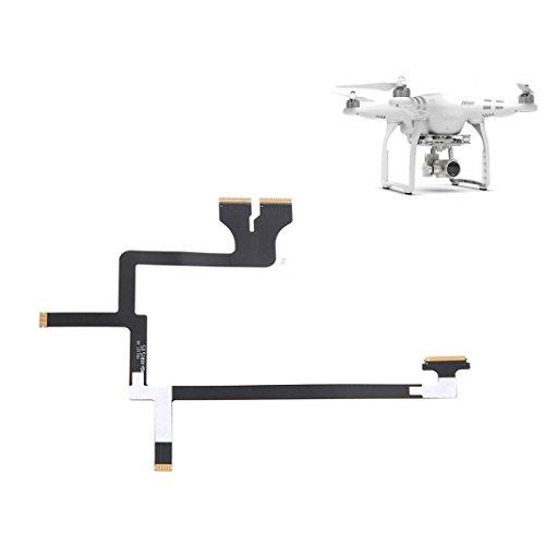 Gotd Flexible Gimbal Flat Ribbon Flex Cable Part 49 For DJI Phantom 3 Professional and Advanced (Black) -  Goodtrade8