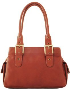 Visconti Leather Shoulder Bag Style 18748